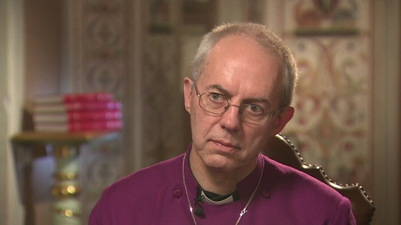 Archbishop of Canterbury learns father's true identity