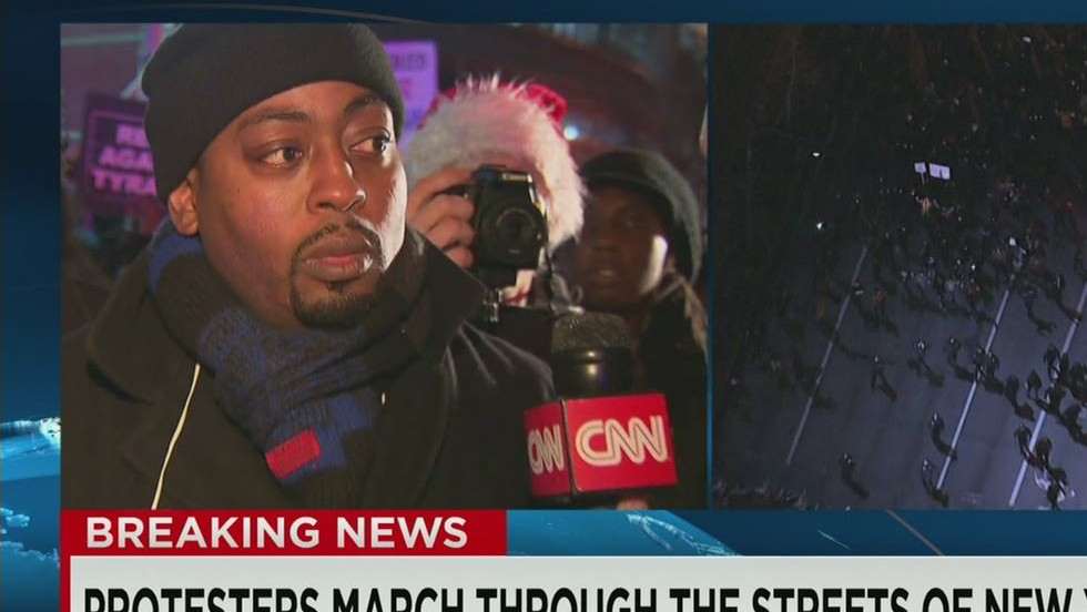 NY protest organizer: We're here to stay - CNN Video