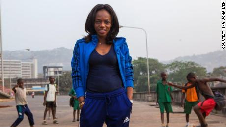 Isha Johansen has held a unique position in African football as the continent's only female soccer president.