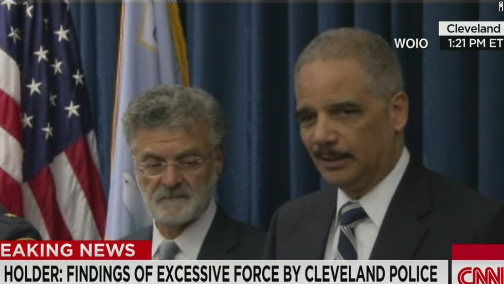 DOJ: Cleveland police used excessive force