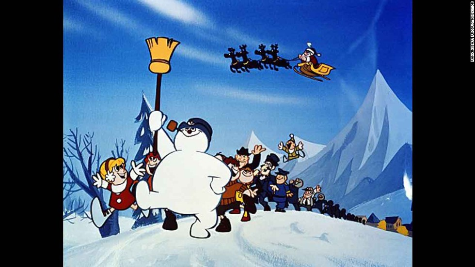 """Frosty the Snowman"": For a lot of kids, the dream of seeing a hand-crafted snowman come to life can be traced directly to another Rankin/Bass special, ""Frosty the Snowman."""