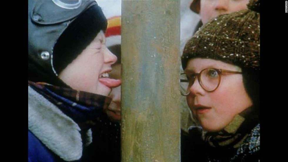 """A Christmas Story"": This enduring '80s comedy has taught us three things: 1. Never lick a frozen flagpole. 2. ""You'll shoot your eye out!"" 3. We're incapable of celebrating the holidays until we've watched this movie at least once. OK, more like twice."