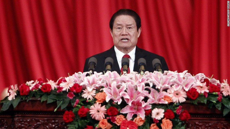 China's ex-security chief gets life in prison for bribes