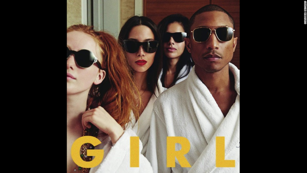 "Album of the year nominee: ""Girl"" by Pharrell Williams"