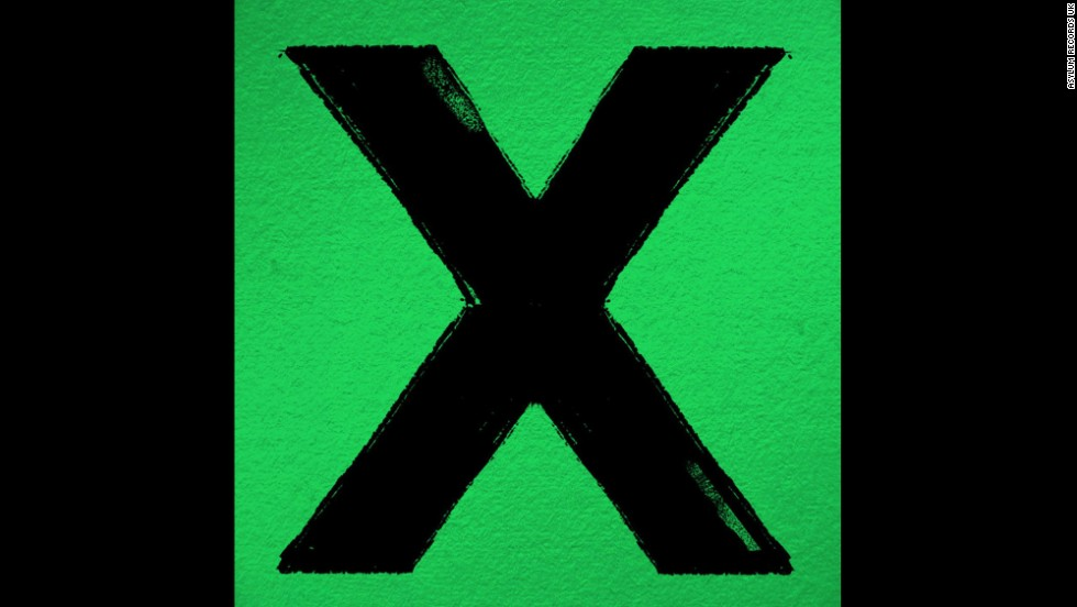 "Album of the year nominee: ""X"" by Ed Ed Sheeran"