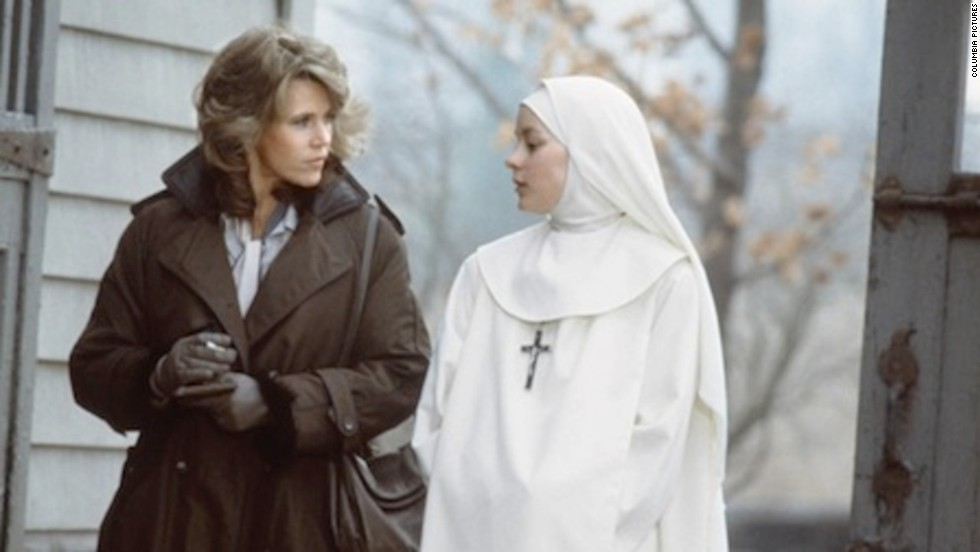 "The Academy Award-nominated ""Agnes of God,"" starring Jane Fonda and Meg Tilly received a one-star review from Ebert:<a href=""http://www.rogerebert.com/reviews/agnes-of-god-1985"" target=""_blank""> ""It considers, or pretends to consider, some of the most basic questions of human morality and treats them on the level of 'Nancy Drew and the Secret of the Old Convent.'""</a>"