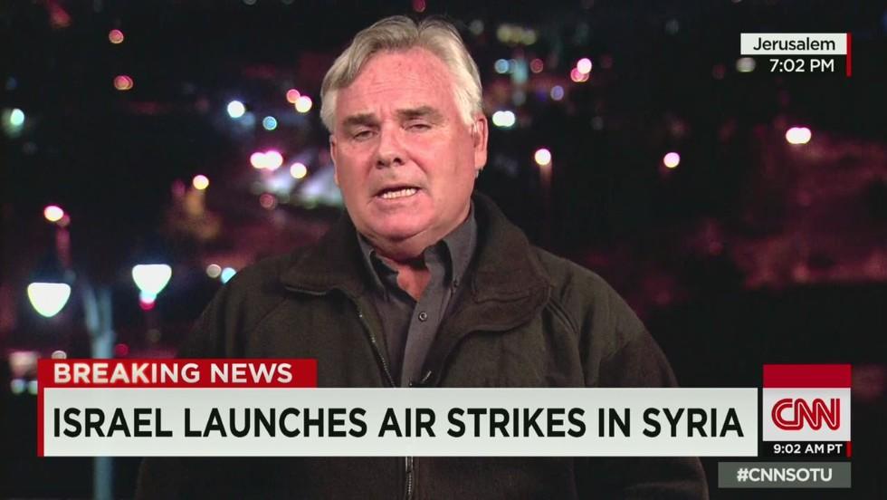 Syria: Israeli warplanes strike targets in Dimas, Damascus