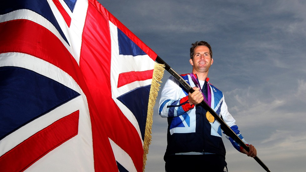 It led him to be selected by the home nation to have the honor of carrying Britain's Union Jack flag at the closing ceremony of those last Olympics.