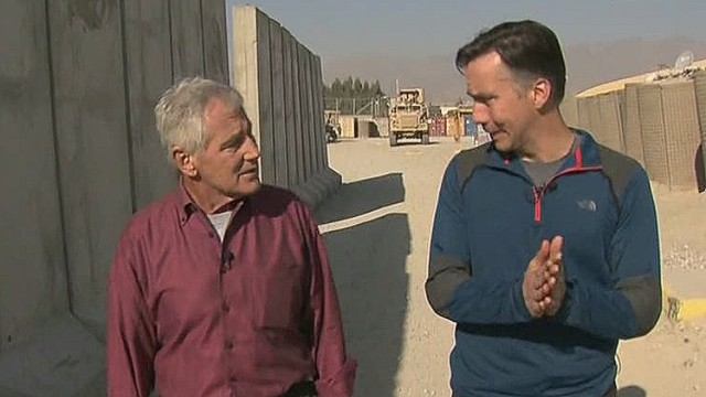 CNN goes to Afghanistan with Chuck Hagel