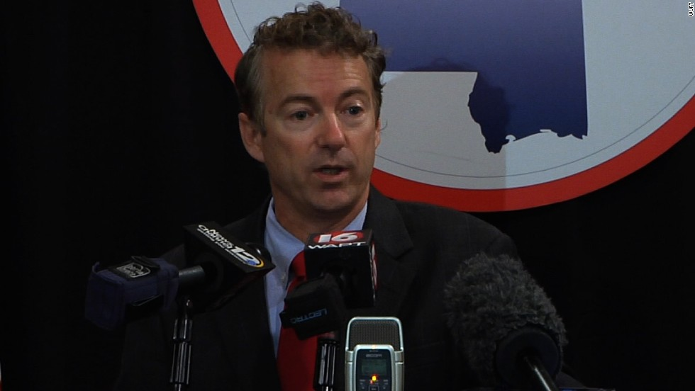 Rand Paul: Officer involved in chokehold death shouldn't be a policeman
