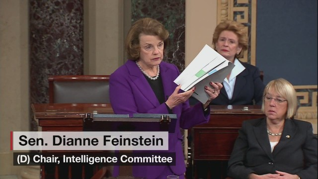 Feinstein outlines intel report on Senate floor