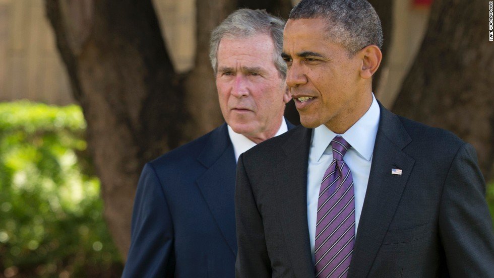 Bush era haunts Obama