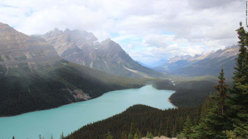 "The mountains, lakes and glaciers of the <a href=""http://ireport.cnn.com/docs/DOC-1170095"">Canadian Rockies</a> rival the beauty of New Zealand, says Sameer Rohatgi, who visited Banff National Park in September."
