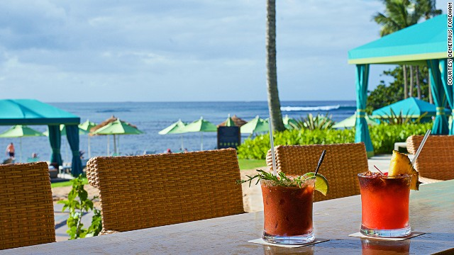 Hawaii Beach Bars 10 Of The Best Cnn Travel