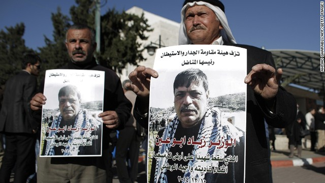 Palestinian official dies after protest