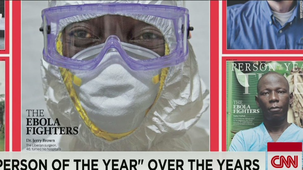 Ebola fighters are Time's 'Person of the Year'