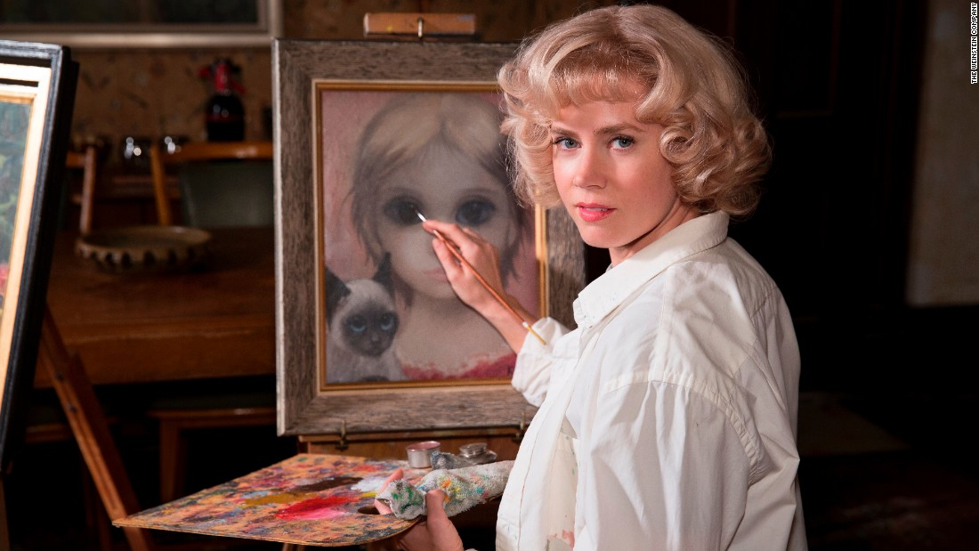 "<strong>Best actress in a motion picture -- musical or comedy:</strong> Amy Adams, ""Big Eyes"""