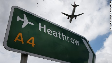 Changes may be made to Heathrow Airport's security plan, London's Metropolitan Police says.