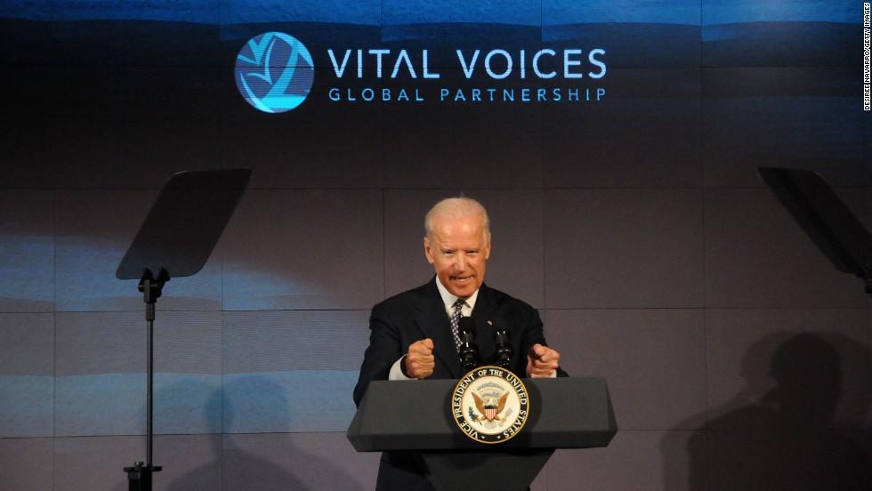Biden talks about threatening to kill a bully