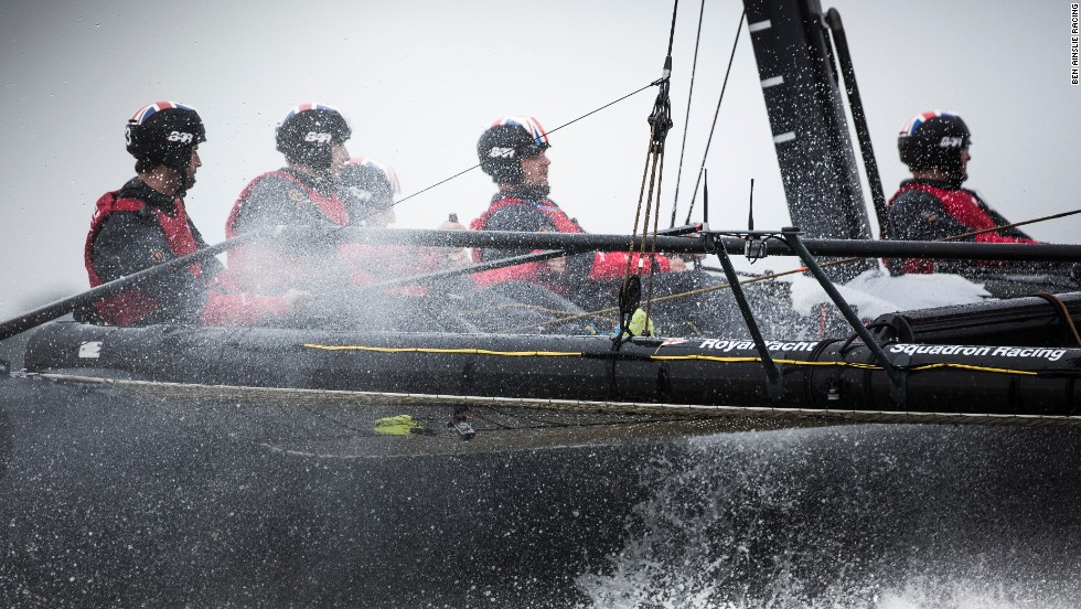 It is a painstaking approach with two-and-a-half years still to go for the entire team from sailors through to the design team.