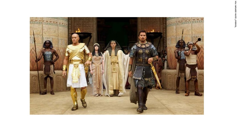 Egypt bans movie 'Exodus'