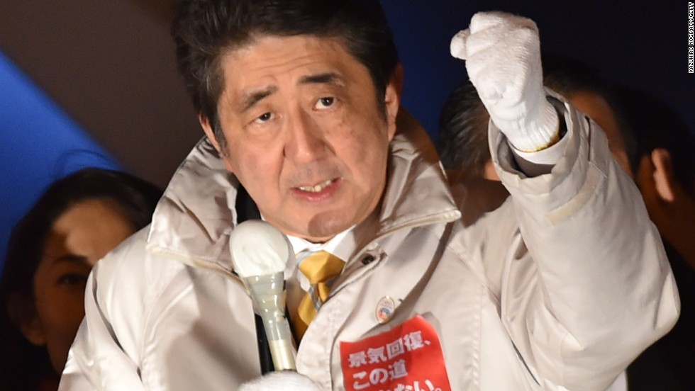 In Japan snap elections, voters back Abe's economic reforms