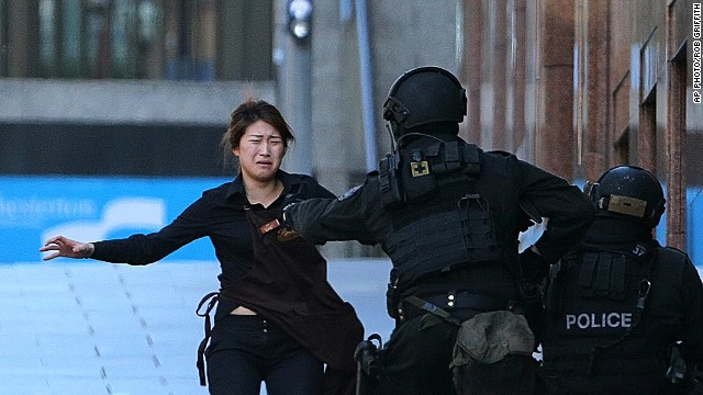 Report: Hostage killed by police bullet in Sydney siege