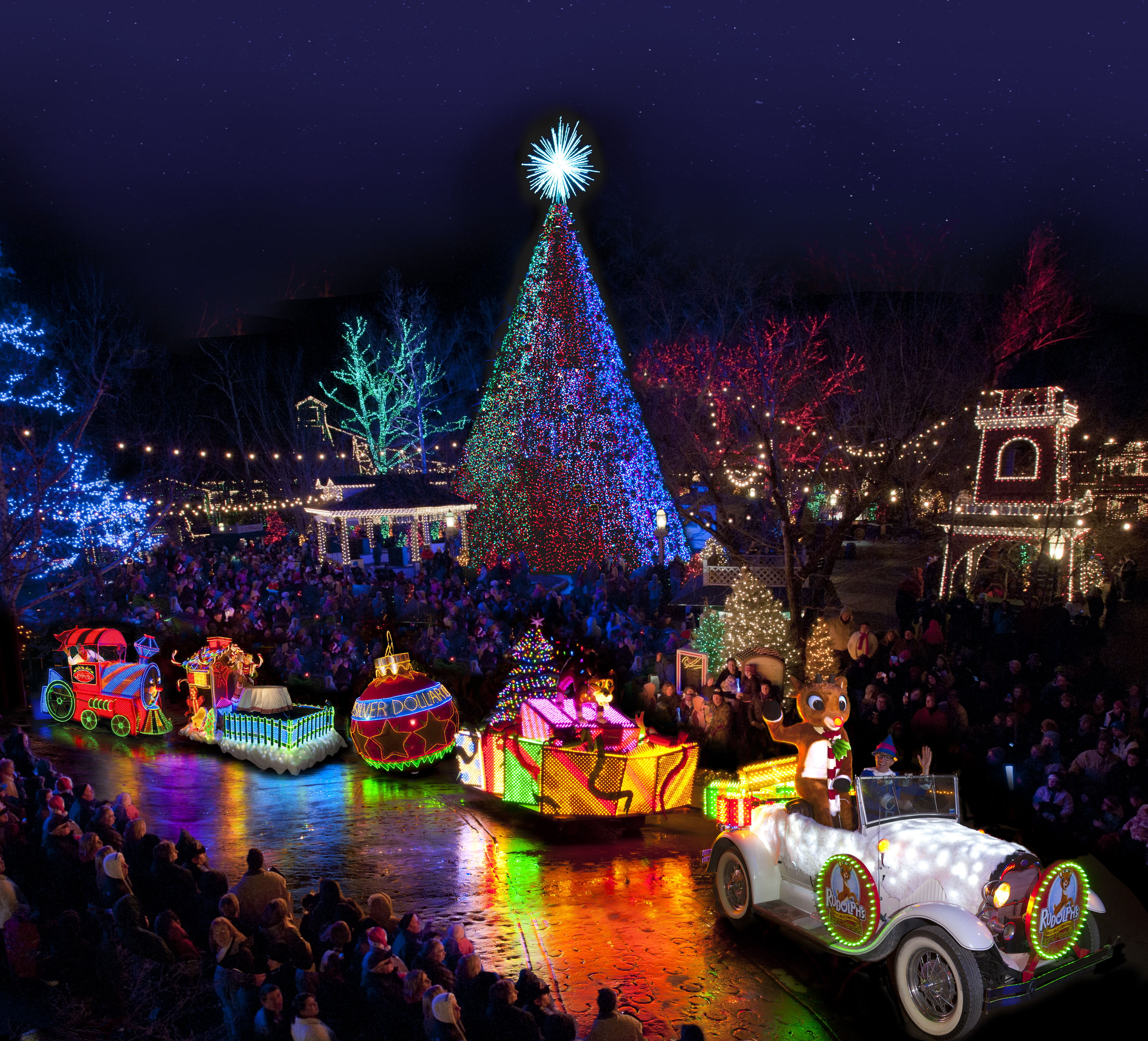 Best Christmas Tree Lights.9 Best Places To See Christmas Lights In The Usa Cnn Travel