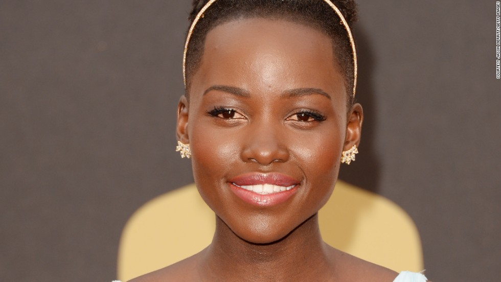 "<strong>Lupita Nyong'o</strong> -- This year's Oscar for her role in ""12 Years a Slave"" brought Nyong'o firmly into the limelight in which she now sits comfortably as a style icon and role model. Nyong'o has spoken publicly throughout 2014 on the beauty of women with dark skin and the importance of equality when setting standards for beauty."