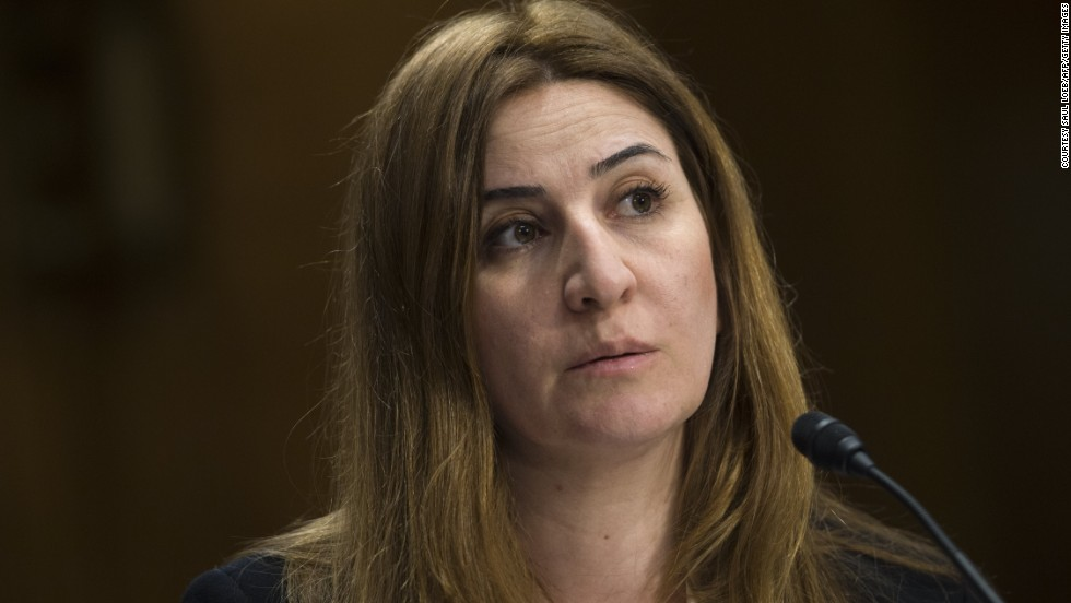 "<strong>Vian Dakhil </strong>-- Current member of the Iraqi Parliament and the only member of Yazidi origin. Dakhil won the 2014 <a href=""http://www.rawinwar.org/content/view/248"" target=""_blank"">Anna Politkovskaya Award</a> run by human rights organization Reach All Women in War (RAW in WAR), for her campaigns to protect the Yazidi people from the terror of Islamic State."