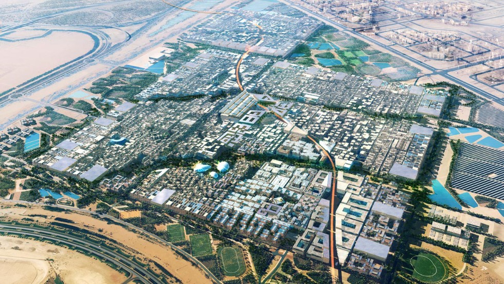Masdar City is a radical vision of a sustainable future that is under construction in the Abu Dhabi desert, bringing together leading architects and state of the art green technology. <br />