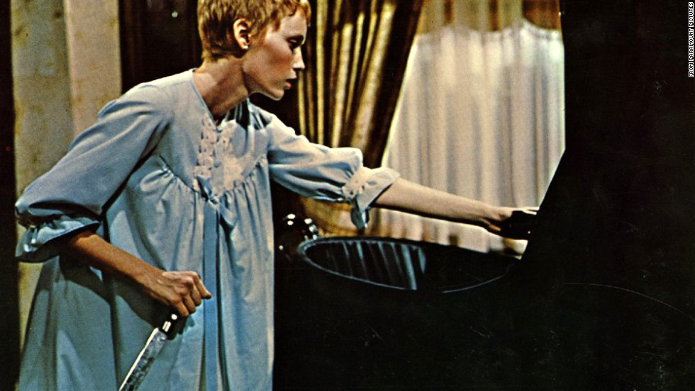 "Director Roman Polanski's 1968 film version of ""Rosemary's Baby"" stars Mia Farrow as an upscale New Yorker impregnated by Satan."