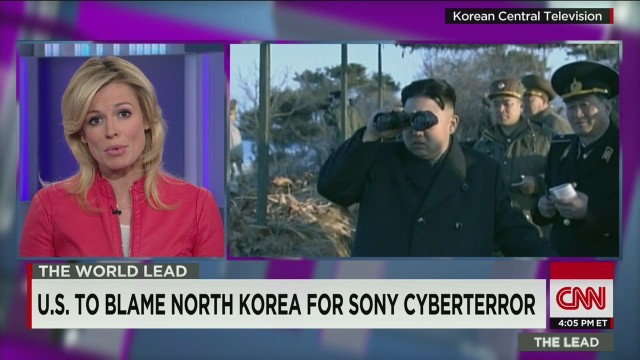 U.S. to blame North Korea for Sony cyberterror