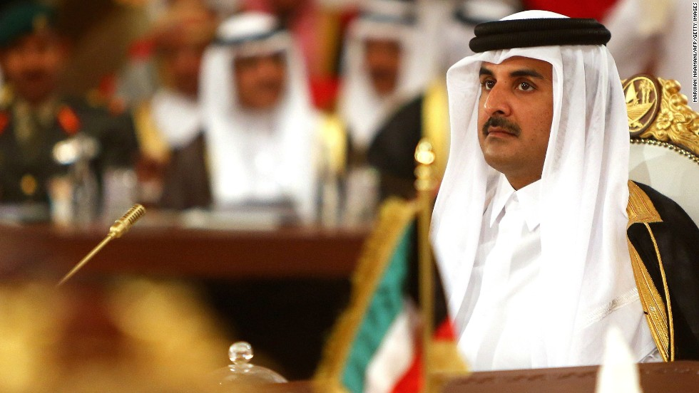 Qatar's Emir Sheikh Tamim bin Hamad Al-Thani took over leadership of the Persian Gulf nation in 2013 after the abdication of his father.