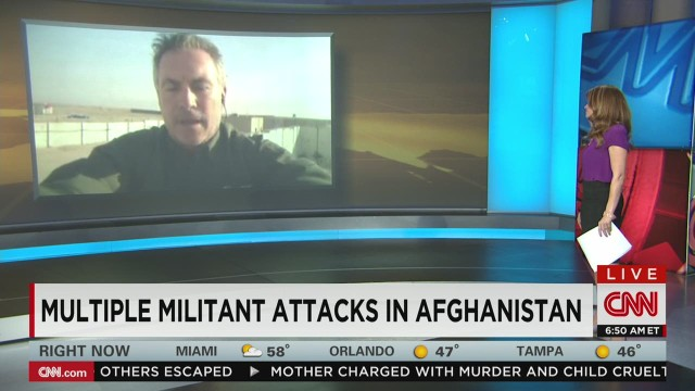 Multiple Militant  Attacks in Afghanistan