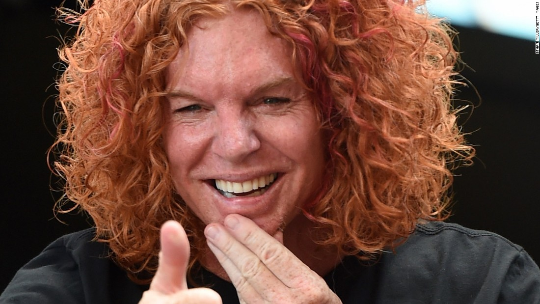 How is it possible that comedian Carrot Top turned 50 on February 25?!
