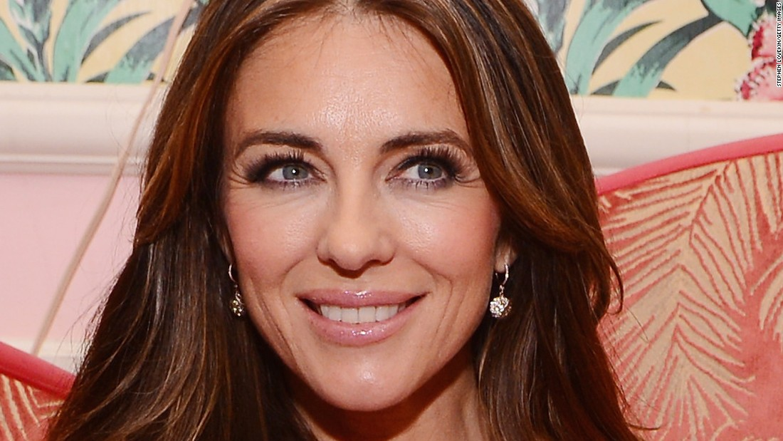 Elizabeth Hurley is still stunning. She turned 50 on June 10.
