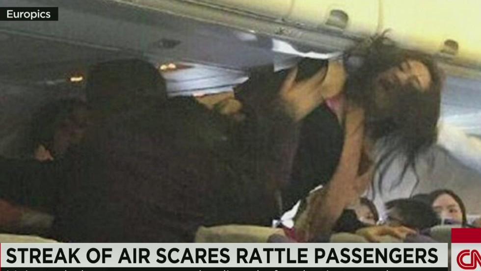 Air scares: Turbulence rattles fliers - CNN Video