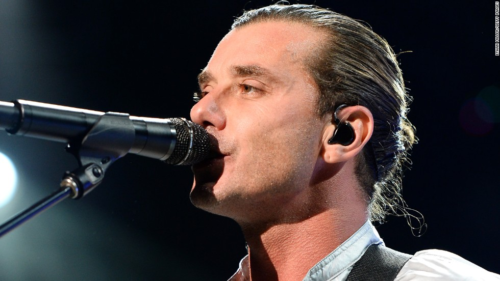 Bush singer/guitarist and the former Mr. Gwen Stefani, Gavin Rossdale, celebrated his b-day on October 30.