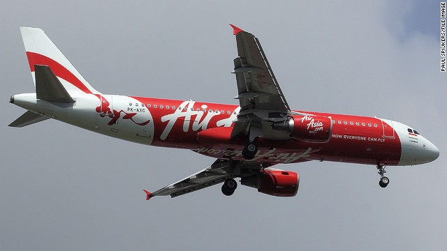 A November 2010 file image of the missing AirAsia Airbus A32-200