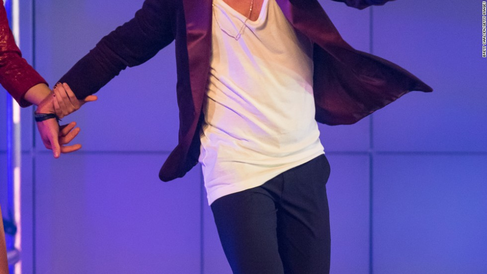 "Mark Ballas performs during the"" Dancing With The Stars: Live! Tour"" on December 28 in Verona, New York."