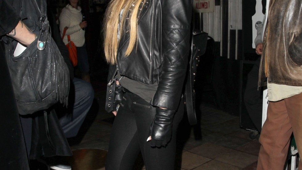 Carmen Electra parties in West Hollywood, California on December 29.