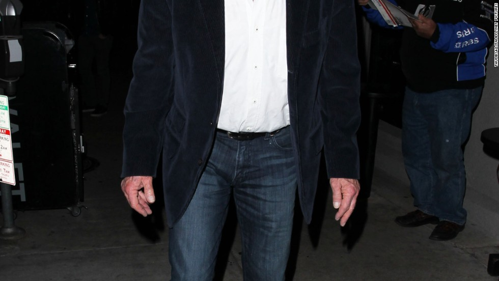 James Caan heads to dinner in West Hollywood, California on December 29.