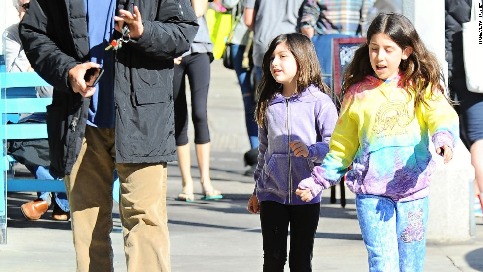Adam Sandler goes to lunch in Brentwood, California on December 29.