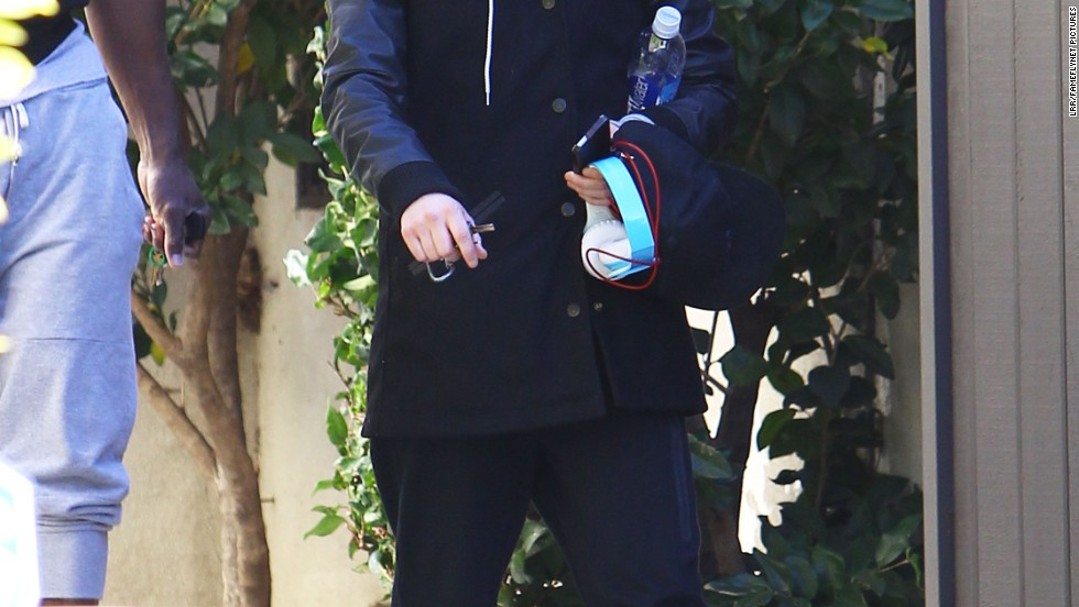 Ellen Page leaves the gym after a workout in Los Angeles, California on December 29.