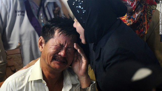 AirAsia families distraught