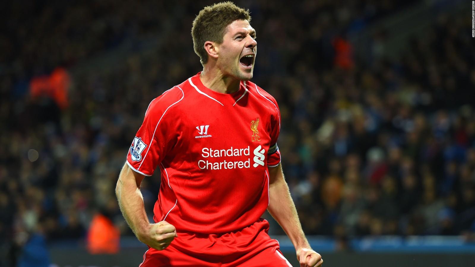 Steven Gerrard Former England Liverpool captain retires CNN