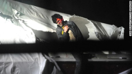 After the Rolling Stone cover, a Massachusetts State Police sergeant leaked photos of Tsarnaev as he was captured.