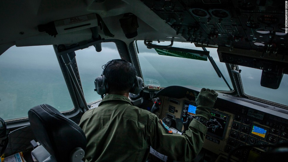 Pings detected in AirAsia search