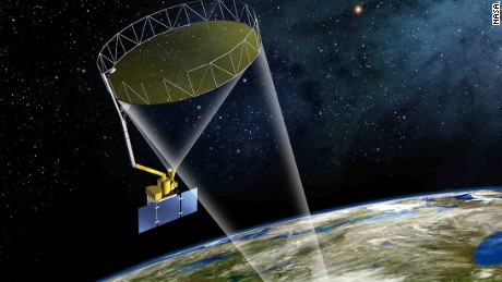 NASA's Soil Moisture Active Passive (SMAP) mission will produce high-resolution global maps of soil moisture.